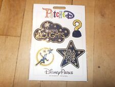 DISNEY PARKS Peter Pan TinkerBell Star Hook Embroidered Removable Patches