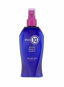 It's A 10 Miracle Leave In Product Detangleing UV Protectant Frizz Free 10fl oz.