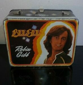 Vintage 1978 King Seeley BEE GEES Robin Gibbs Metal Lunch Box Pail