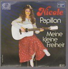 """7"""" Nicole Papillon / Meine kleine Freiheit 80`s Teldec Jupiter"""