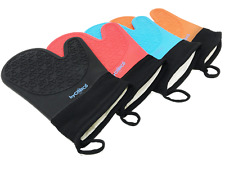Silicone Oven Mitts Kitchen Gloves