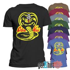 Men's T-Shirt Funny Cobra Kai Karate Kid Graphic Tee Short Sleeve Top Tee