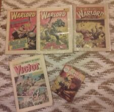 Comics, Warlord 1984 No 521, 331, 392. Battle Picture No 277, Road to Disaster.