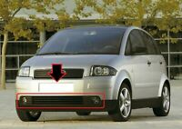 Audi A2 1999-2005 Neu Original Vorne Rechts+Links Nebelscheinwerfer Grill Mitte