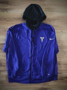 Nike Kobe Bryant 24 Mamba Therma-Fit Zip Up Hoodie Jacket XXL