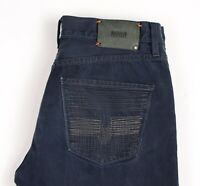 HUGO BOSS Hommes HB25-Embroidery Standard Jeans Jambe Droite Taille W35 L34