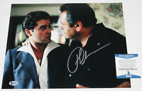 PAUL SORVINO SIGNED 'GOODFELLAS' PAULIE 11x14 MOVIE PHOTO PROOF BECKETT BAS COA