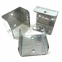 "PACK OF 20 - 44mm (1.7"") FENCE & TRELLIS CLIPS BRACKET PANEL FIXING GARDEN POST"