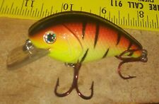 Mann's C4 Red Hook Elite Series 3 in. Texas Sunrise Fishing Tackle lure Exc.
