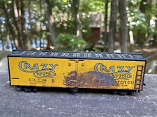 Ho Scale Mantua Rusty Crazy Chrystals Refrigerated Boxcar