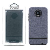 Incipio Esquire Impact Absorbing Protection Fabric Case - Motorola Moto Z2 Play