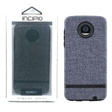 Incipio Esquire Series Cover New Protective Case - Motorola Moto Z2 Play - Gray