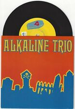"Alkaline Trio ""Hell Yes"" 7"" OOP The Lawrence Arms Rise Against Blink 182"