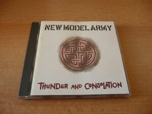 CD New Model Army - Thunder and Consolation - 1989 - 15 Songs
