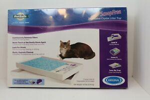 ScoopFree by PetSafe Cat Litter Box Tray Refill Disposable Crystal NEW
