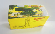 Repro Box Dinky Nr.823 Camion GMC Militaire Citerne Essence