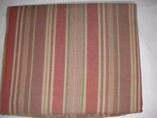 Ralph Lauren Northern Cape Terra Cotta Stripe Queen Flat Sheet New
