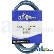 "A62K A-SECTION MADE WITH KEVLAR  (BLUE) V BELT - 1/2"" X 64"""