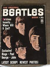 THE ORIGINAL BEATLES BOOK Vintage Magazine 1964 Petersen Publishing