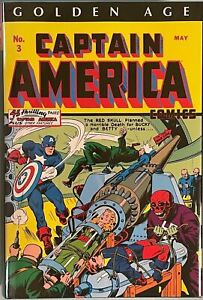 CAPTAIN AMERICA GOLDEN AGE OMNIBUS VOL 1 DM KIRBY COVER! FIRST! FREE SHIPPING!
