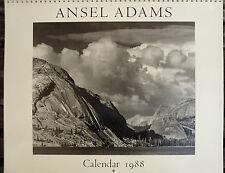 Ansel Adams Calendar 1988, photographie, Ansel Adams, photographie,