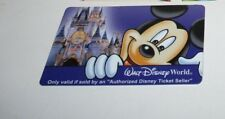 WALT DISNEY WORLD THEME PARK USED EXPIRED MAGIC YOUR WAY PASS CARD 2006