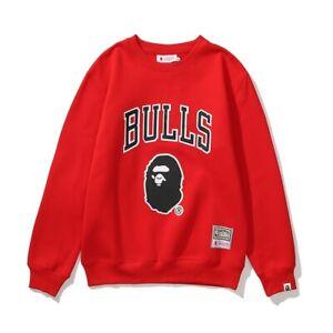 Chicago Bulls Bape Sweatshirt