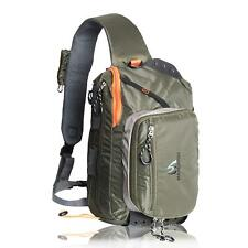 Maxcatch Fly Fishing Sling Bag Single Shoulder Bagpack With Fly Patch Outdoor