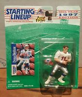 DREW BLEDSOE 1997 STARTING LINEUP FIGURE NEW NIB SEALED  PATRIOTS COWBOYS