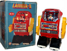 Vintage Lambda III Robot Battery Operated with Pilot Horikawa Style