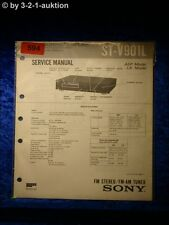 Sony Service Manual ST V901L Tuner  (#0594)