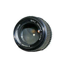 Pentax K Manual Focus Camera Lenses 50mm Focal