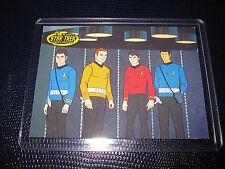 STAR TREK ANIMATED ADVENTURES PROMO CARD CARTE P2 MINT