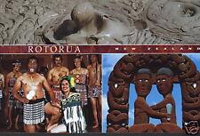 Postkarte: Rotorua, Maori-Kultur, Neuseeland
