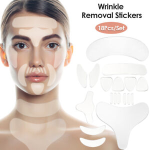 Reusable Anti Wrinkle Chest Neck Eye Face Pad Silicone Removal Patch Skin Lift