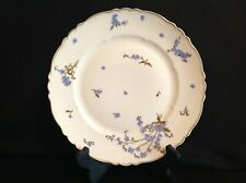 Haviland Limoges Montmery (Forget Me Nots) One (1) Dinner Plate France