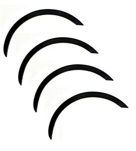Radlauf Zierleisten NISSAN MICRA K11 SCHWARZ 4 Stück Links Rechts Satz Bj 92-03