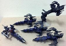 Warhammer 40K Dark Eldar Reaver Jetbike lot 40,000 miniatures attacking enemy