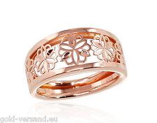 Rotgold Ring Schmuck Rotgold Damenring 585° Goldener Ring 18.5 mm Rose gold 585