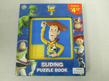 Disney Pixar Toy Story 3 Sliding Puzzle Book Storybook with 4 puzzles