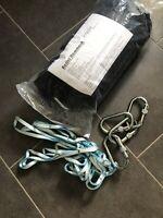 Sweaty betty Bag Aerial Yoga Pilates Black Silk Hammock And Fixings New In Pack