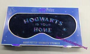 Harry Potter Eye Mask HOGWARTS IS YOUR HOME  Sleep Mask Wizarding World ⚡️⚡️⚡️