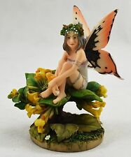 Beautiful Fantasy Fairy/Pixie Figure/Statue 'Honeysuckle' Linda Ravenscroft New
