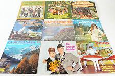 Schallplattenkonvolut: Alpenhits Inntaler Berge Volkslieder LP Vinyl LPK70