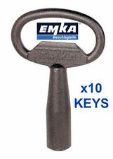 Emka 8mm Square Keys X 5 1004-02 LQQK - Postage