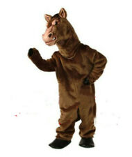 Horse Mascot Costume Suits Cosplay Dress Clothing Advertising Christmas Fursuit@