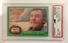 1977 TOPPS STAR WARS TRADING CARD - SERIES 4: GREEN - #238 UNCLE OWEN - PSA 8