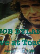 """Bob Dylan 4 Vinyl box set 'Live at Toad's""""  1990 with 35 songs OOP"""