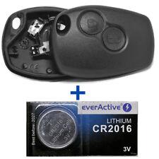 Schlüssel Gehäuse Fernbedienung + Batterie DACIA DOKKER SANDERO DUSTER LOGAN