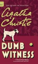 Dumb Witness by Agatha Christie (2016, Hardcover)